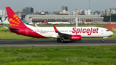 VT-SLE - Boeing 737-86N - SpiceJet
