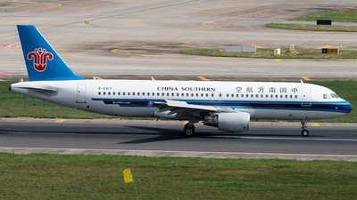 A picture of B6817 - Airbus A320214 - China Southern Airlines - © MICHAELWang