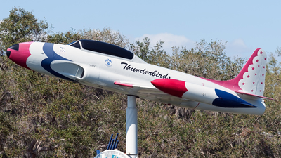 57-0598 - Lockheed T-33A Shooting Star - United States - US Air Force (USAF)