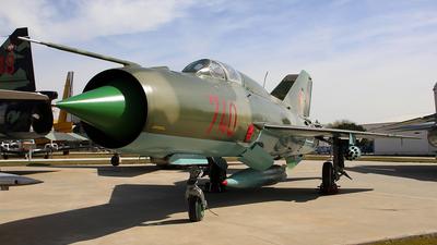 740 - Mikoyan-Gurevich MiG-21SPS Fishbed F - German Democratic Republic - Air Force