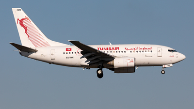 A picture of TSION - Boeing 7376H3 - Tunisair - © Sebastian Sowa