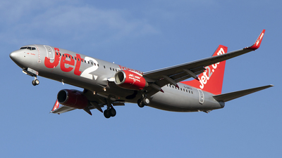 G-DRTY - Boeing 737-8AS - Jet2.com