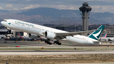 B-KPU - Boeing 777-367ER - Cathay Pacific Airways