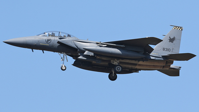 8310 - Boeing F-15SG Strike Eagle - Singapore - Air Force