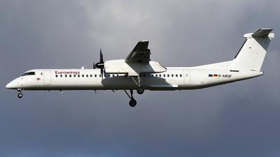 A picture of DABQF - De Havilland Canada Dash 8400 - [4245] - © Nigel Fenwick