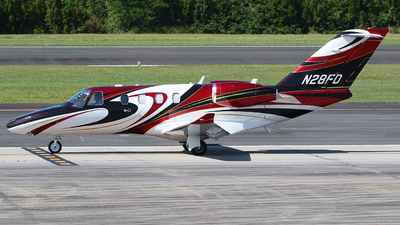 N28FD - Cessna 525 CitationJet M2 - Private