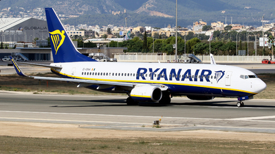 A picture of EIENW - Boeing 7378AS - Ryanair - © Javier Rodriguez - Amics de Son Sant Joan