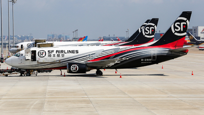 B-2988 - Boeing 737-36R(BDSF) - SF Airlines