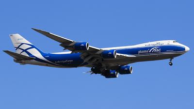 A picture of VQBRH - Boeing 7478HV(F) - AirBridgeCargo Airlines - © Railgun