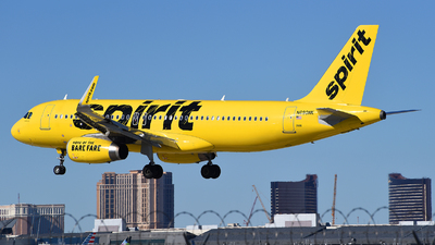 A picture of N690NK - Airbus A320232 - Spirit Airlines - © Rocky Wang