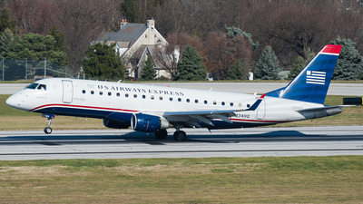 N134HQ - Embraer 170-200LR - US Airways Express (Republic Airlines)