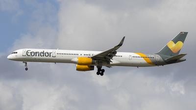 A picture of DABOL - Boeing 757330 - Condor - © Siegi N.