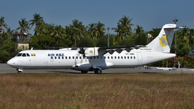 A picture of XYAMO - ATR 72600 - Air KBZ - © Ratchapon Pipitsombat