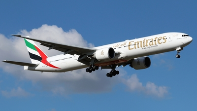 A picture of A6ECI - Boeing 77731H(ER) - Emirates - © Timothy Brandt