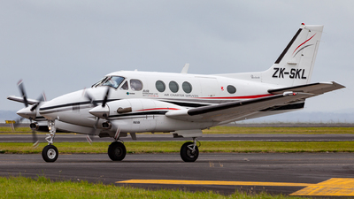 ZK-SKL - Beechcraft C90A King Air - Air Gisborne