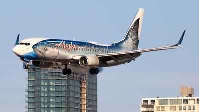 A picture of N559AS - Boeing 737890 - Alaska Airlines - © Jinyuan LIU