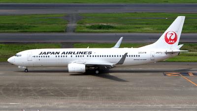 JA317J - Boeing 737-846 - Japan Airlines (JAL)