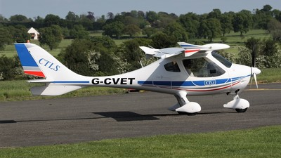 G-CVET - Flight Design CTLS - Private