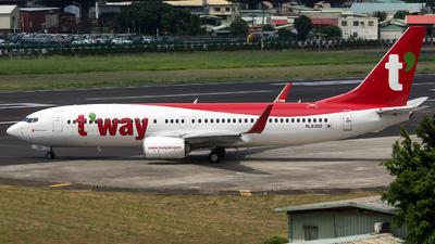 HL8300 - Boeing 737-8AL - T'Way Air