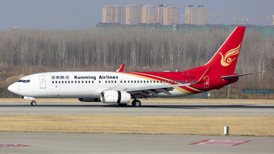 B-6492 - Boeing 737-8LY - Kunming Airlines