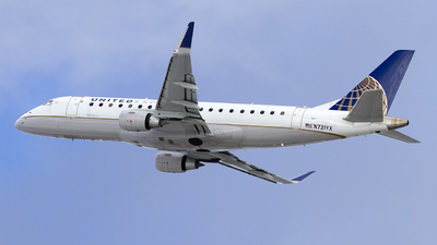 A picture of N731YX - Embraer E175LR - United Airlines - © Jeremy D. Dando