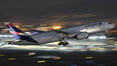 CC-BBC - Boeing 787-8 Dreamliner - LATAM Airlines