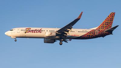 PK-LBJ - Boeing 737-9GPER - Batik Air