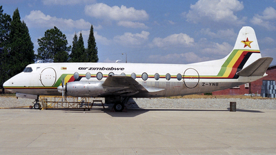 Z-YNB - Vickers Viscount 748D - Air Zimbabwe