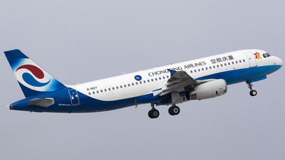 B-1827 - Airbus A320-232 - Chongqing Airlines