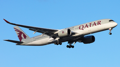 A7-AMJ - Airbus A350-941 - Qatar Airways