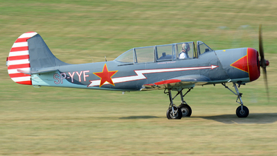 SP-YYF - Aerostar Bacau Yak-52 - Private