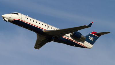N258PS - Bombardier CRJ-200ER - US Airways Express (PSA Airlines)