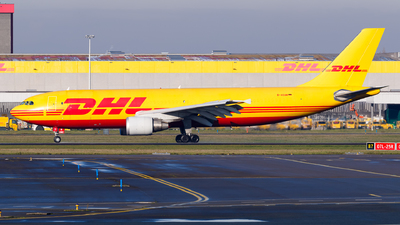 A picture of DAEAM - Airbus A300B4622R(F) - DHL - © Matteo Lamberts
