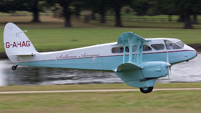 G-AHAG - De Havilland DH-89A Dragon Rapide - Private