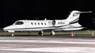 N135AJ - Gates Learjet 35A - Private