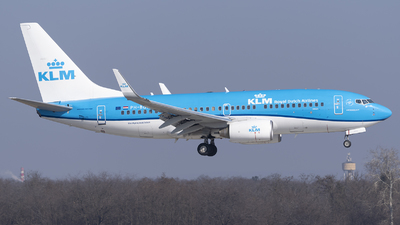 A picture of PHBGP - Boeing 7377K2 - KLM - © DesertWolf