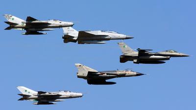 84718 - General Dynamics F-16A Fighting Falcon - Pakistan - Air Force
