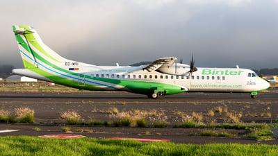 A picture of ECMVI - ATR 72600 - Binter Canarias - © Manuel EstevezR