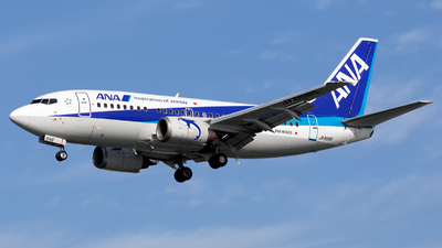 JA8595 - Boeing 737-54K - ANA Wings