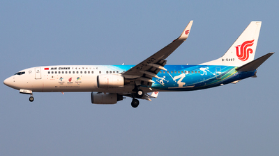 B-5497 - Boeing 737-89L - Air China