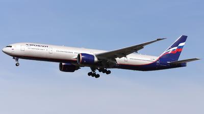 A picture of VQBFK - Boeing 7773M0(ER) - Aeroflot - © Domi Einert