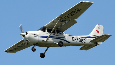 B-7922 - Cessna 172R Skyhawk - Civil Aviation Flight University of China