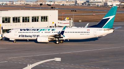C-GAWS - Boeing 737-8CT - WestJet Airlines