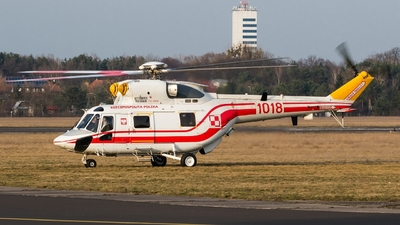 1018 - PZL-Swidnik W-3WA Sokó? - Poland - Air Force