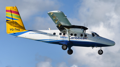 VQ-THG - De Havilland Canada DHC-6-300 Twin Otter - interCaribbean Airways