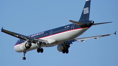 N187US - Airbus A321-211 - US Airways