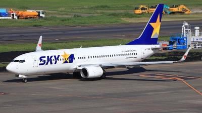 JA73NG - Boeing 737-86N - Skymark Airlines