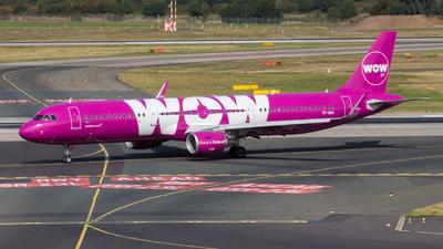 TF-GMA - Airbus A321-211 - WOW Air
