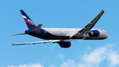 A picture of VPBGF - Boeing 7773M0(ER) - Aeroflot - © John Richard