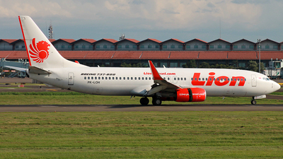 PK-LOH - Boeing 737-8GP - Lion Air